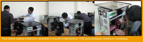 Aktifitas Laboratorium TI/SI saat libur perkuliahan