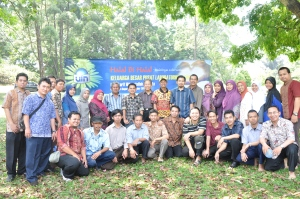 PLT: Halal Bihalal di Kebun Raya Bogor