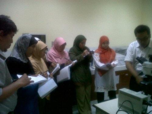 Training in House Mikroskop Olympus BX51