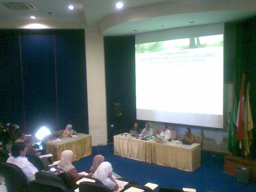 Rapat Dosen FST Semester Genap 2012
