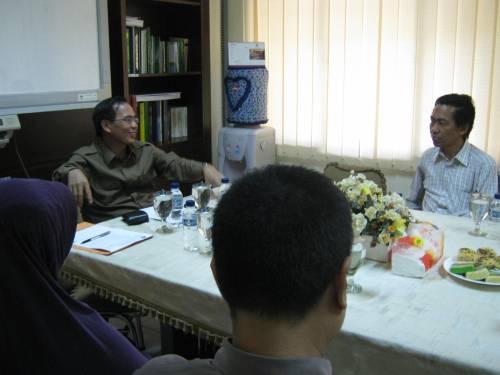 FST UIN Jakarta menerima kunjungan dari FST UIN Bandung