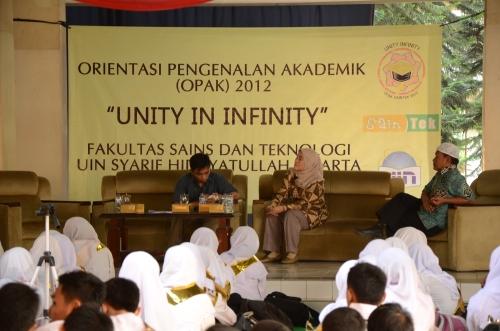 Orientasi Pengenalan Akademik dan Kemahasiswaan (OPAK) FST