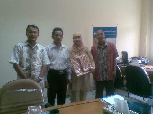PLT menerima kunjungan Studi Banding dari IAIN Surakarta Solo
