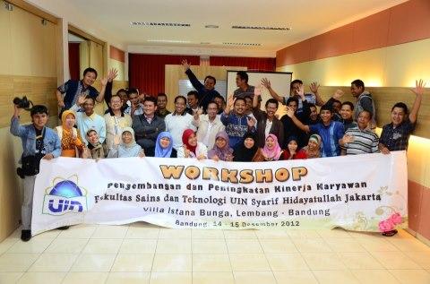 Workshop Peningkatan SDM di Lembang-Bandung