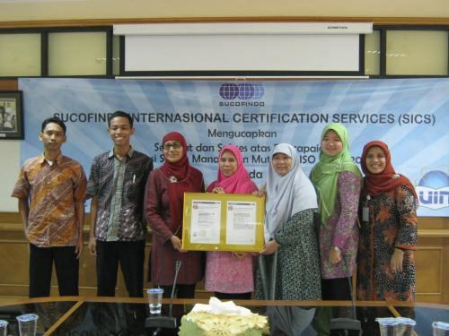 Selamat dan Sukses dengan SNI ISO 9001:2008