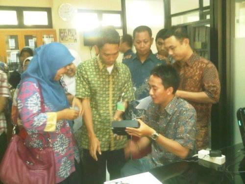 Registrasi Ulang Finger Print