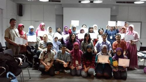 PLP Biologi PLT-UIN Jakarta Mengikuti Training Biosafety, Biosecurity dan Teknik Biomedik