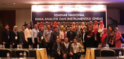 Seminar Nasional Kimia Analitik Indonesia in conjunction with Lab Indonesia di Jakarta Convention Center