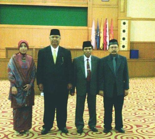 Para Wakil Rektor UIN Jakarta Baru Periode 2015-2019
